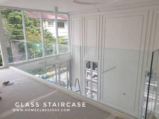 ราวบันได / ราวกันตก กระจกนิรภัย: ทันสมัย  โดย Home Glass 2003, โมเดิร์น