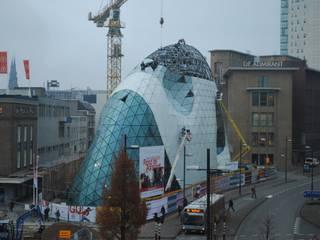 Blob NL Eindhoven Glas-Alu Fassade Ausgefallene Einkaufscenter von Lippold GmbH Glaserei Ausgefallen
