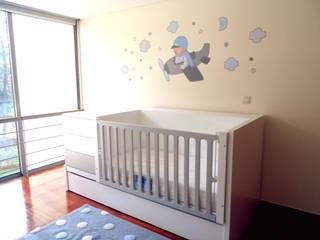 Quartos Bebé:   por Kids House