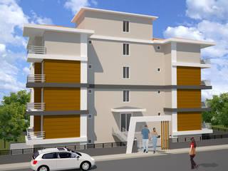Melike Akgül Mimari Tasarım Ofisi – YAYLA KONUTU:  tarz Evler