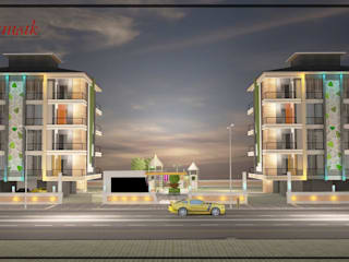 Maisons de style  par Melike Akgül Mimari Tasarım Ofisi