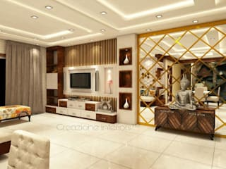 Creazione Interiors Living roomTV stands & cabinets