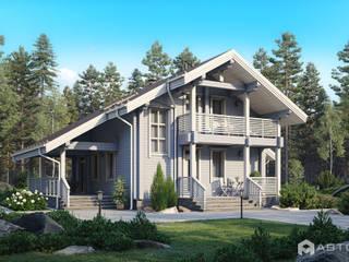 AV204: Деревянные дома в . Автор – Архитектурная студия 'АВТОР'