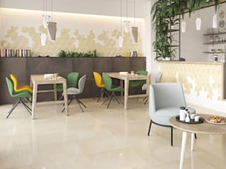 Ceramika Paradyz 現代風玄關、走廊與階梯