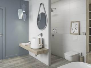 Bathroom by Ceramika Paradyz, Scandinavian