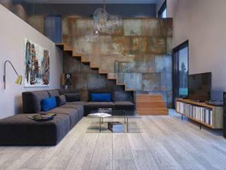 Living room by Ceramika Paradyz, Industrial