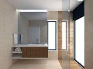 Arq.Interiores_W.C.'s Casas de banho minimalistas por Espaços de Mim Minimalista