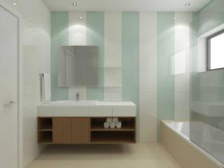Arq.Interiores_W.C.'s Casas de banho modernas por Espaços de Mim Moderno