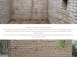 Restauración ADOBE de Tierra Taller mx Rústico