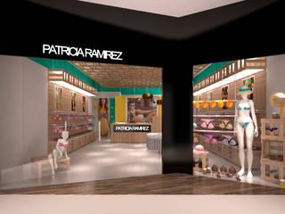 Tienda Patricia Ramirez:  de estilo  por Arq. Esteban Correa