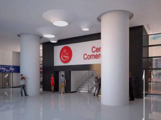 Remodelación de halls centro comercial Iserra 100 de Arq. Esteban Correa
