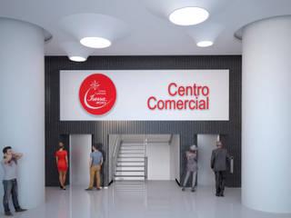 Remodelación de halls centro comercial Iserra 100:  de estilo  por Arq. Esteban Correa