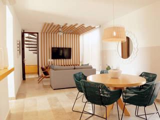 Tulum Livingroom.:  de estilo  por S P A C E L A B