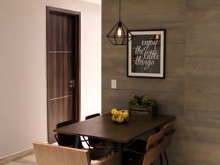 Modern Dining Room by S P A C E L A B Modern