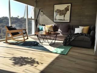 Modern Living Room by S P A C E L A B Modern