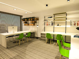 : Edificios de oficinas de estilo  por Zacua Arquitectura S.A.S,