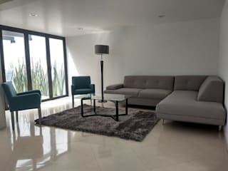 Modern Living Room by IINGENIO CONSTRUCTORES Modern