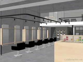 Salon de belleza Urban Hair Casas minimalistas de Visionary Architecture SA de CV Minimalista