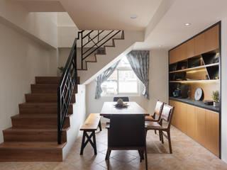 Stairs by 舍子美學設計有限公司, Country