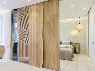 CABAÑA Спальня в тропическом стиле от J.Lykasova Тропический