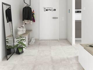 Ceramika Paradyz 經典風格的走廊,走廊和樓梯