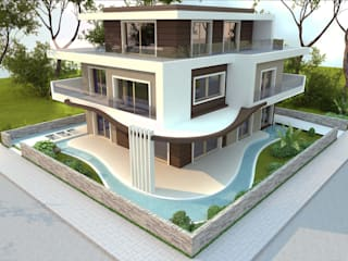ANTE MİMARLIK  – İpek G. - Villa:  tarz Villa