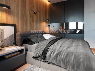 غرفة نوم تنفيذ Дизайн студия 'Дизайнер интерьера № 1'