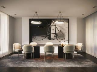 Conference room:  Studeerkamer/kantoor door VRArtStudio