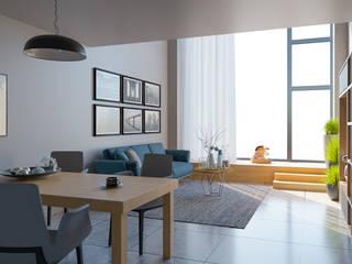 Salon minimaliste par VRArtStudio Minimaliste