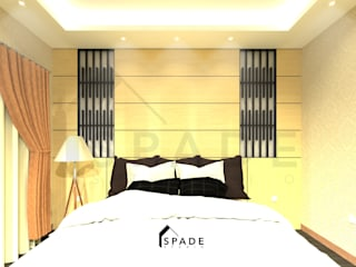 Master Bedroom Taman Surya 2:   by SPADE Studio Indonesia