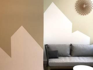MIINT - design d'espace & décoration Clínicas de estilo escandinavo Beige