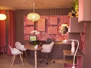 MIINT - design d'espace & décoration Modern clinics Beige