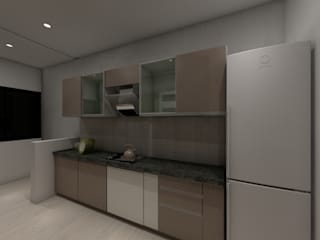 Kitchen by Peak Interior Asian