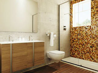 Bath:  Bathroom by Panoviz Studios