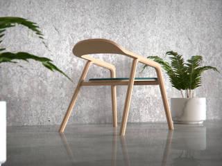 Silla Elapso de Cubeconcept.studio Moderno