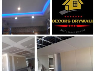 DECORS DRYWALL de decors drywall Moderno