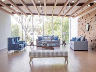 Loft Decoración :  de estilo industrial por Casa de las Lomas, Industrial