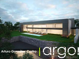 現代房屋設計點子、靈感 & 圖片 根據 Argon Arquitectos 現代風