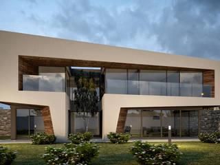 Habitação Boavista: Casas unifamilares  por SAME - Studio Architects,