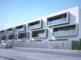 Moradias na Falperra: Casas unifamilares  por SAME - Studio Architects,