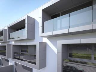 Moradias na Falperra por SAME - Studio Architects Moderno
