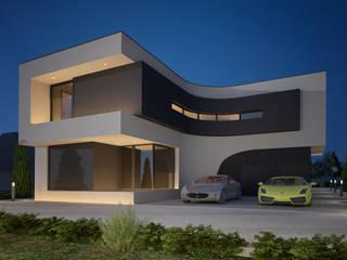 Moradia Fraião: Casas unifamilares  por SAME - Studio Architects,