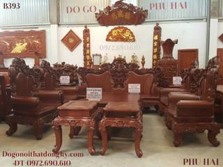 Bo Ban Ghe Go Cam Lai Gia 500 Trieu Cho Nha Biet Thu B393: hiện đại  by Do Go My Nghe Phu Hai, Hiện đại