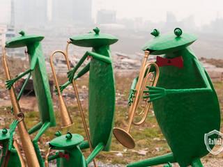 Ferforje Kurbağalar / Wrought iron frog Ramez Ferforje Sanat Atölyesi Klasik