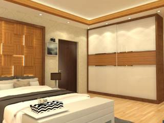 Master Bedroom:   by Niche Design Loft
