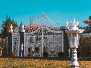 Ferforje Bahçe Kapıları / Wrought iron doors Ramez Ferforje Sanat Atölyesi Klasik