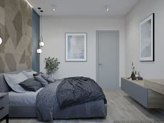 Bedroom by дизайн-бюро ARTTUNDRA, Scandinavian