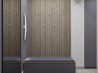 Pasillos, vestíbulos y escaleras de estilo escandinavo de дизайн-бюро ARTTUNDRA Escandinavo