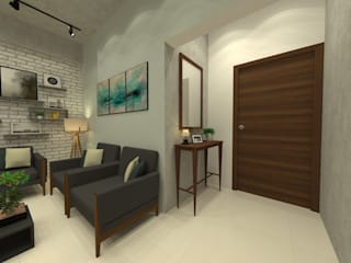 George @ Tulive Viha, Chennai:   by Niche Design Loft