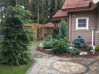 Scandinavian style garden by GREENS архитектурно-ландшафтное бюро Scandinavian